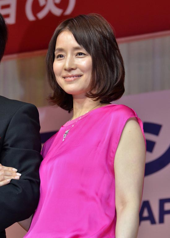 40代部門を受賞した石田ゆり子