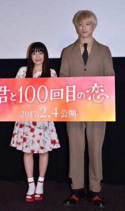 イベントに出席した(左から)miwa、坂口健太郎