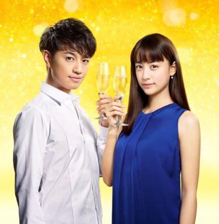 イメージキャラクターに起用された斎藤工(左)と山本美月