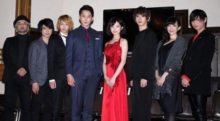 (左から)キムラ真、柏木佑介、杉江大志、石黒英雄、入来茉里、秋元龍太朗、名塚佳織、野嵜豊