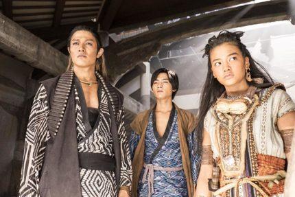 (左から)ヒュウゴ、チャグム、セナ