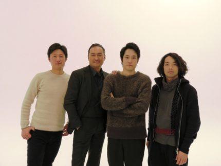 (左から)李相日監督、渡辺謙、松山ケンイチ、森山未來