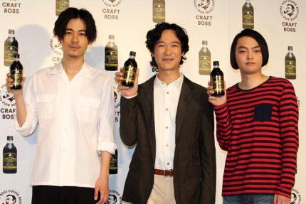 (左から)成田凌、堺雅人、小澤慎一朗