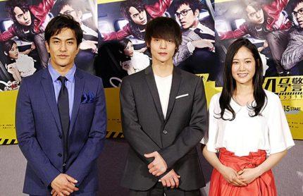(左から)北村一輝、窪田正孝、阿部純子