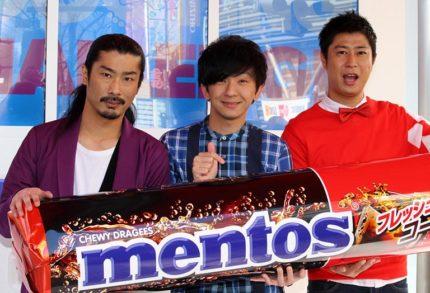 (左から)菅良太郎、向井慧、尾形貴弘