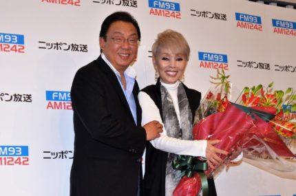 梅沢富美男(左)と研ナオコ