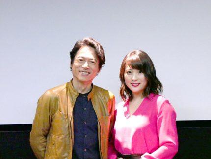 三上博史(左)と北乃きい