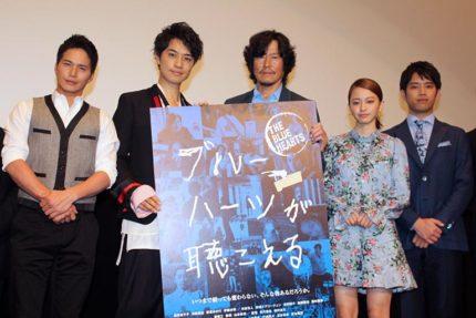 (左から)市原隼人、斎藤工、豊川悦司、山本舞香、三浦貴大