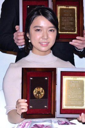 新進女優賞を受賞した上白石萌音