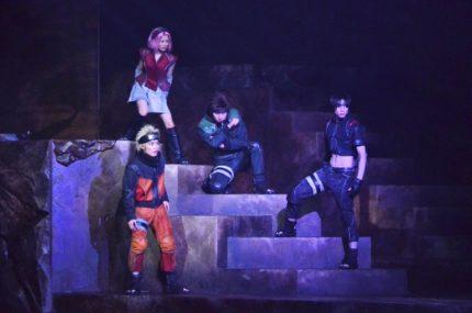 公開舞台稽古の様子