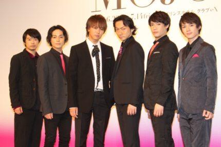 (左から)尾上寛之、木村了、TAKAHIRO、波岡一喜、味方良介、横田龍儀